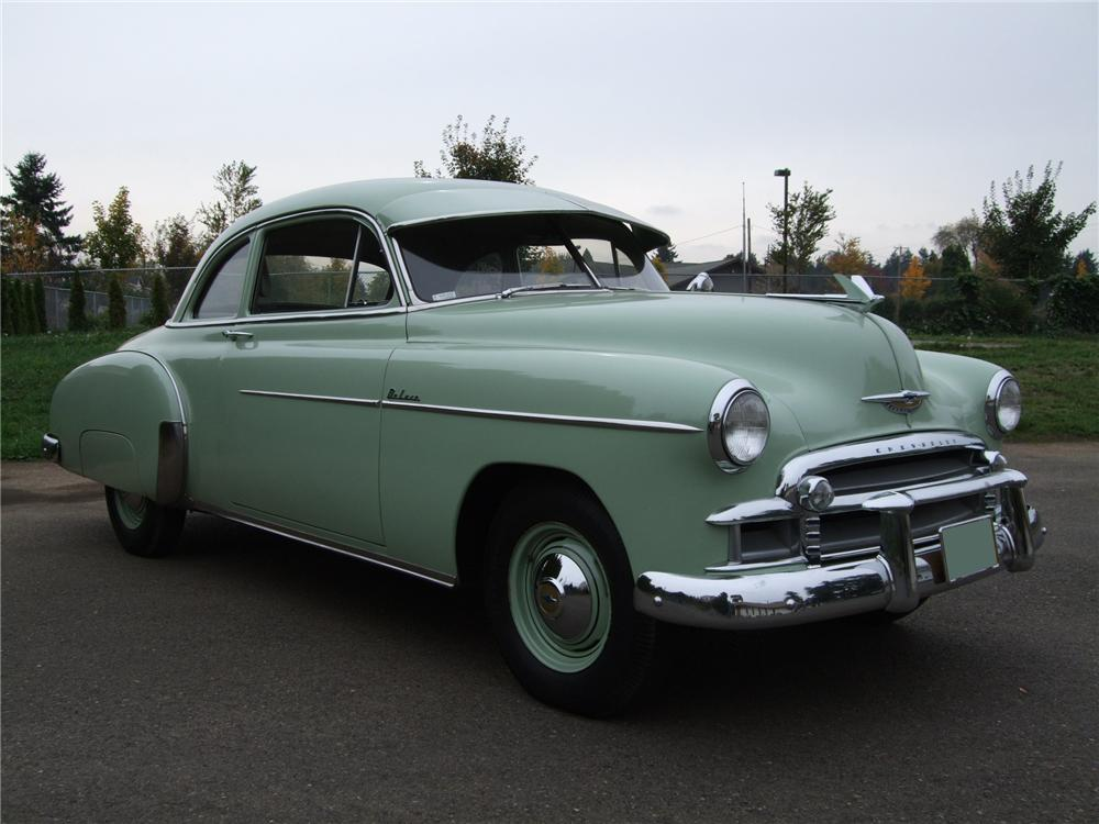 1950 chevrolet club 2 door coupe 81129