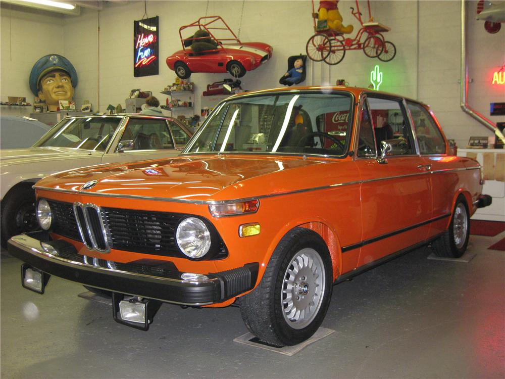 1974 BMW 2002 2 DOOR COUPE - Front 3/4 - 81133