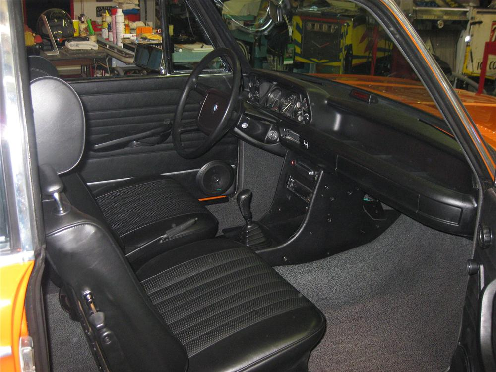 1974 BMW 2002 2 DOOR COUPE - Interior - 81133