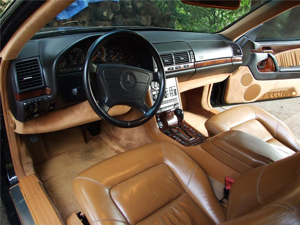 1993 MERCEDES-BENZ 600SEC 2 DOOR COUPE - Interior - 81134