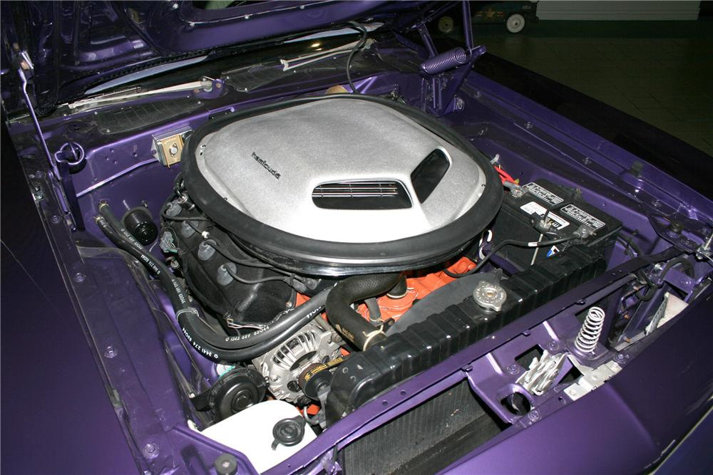 "1971 PLYMOUTH HEMI CUDA RE-CREATION ""AL JARDINES"" - Engine - 81139"