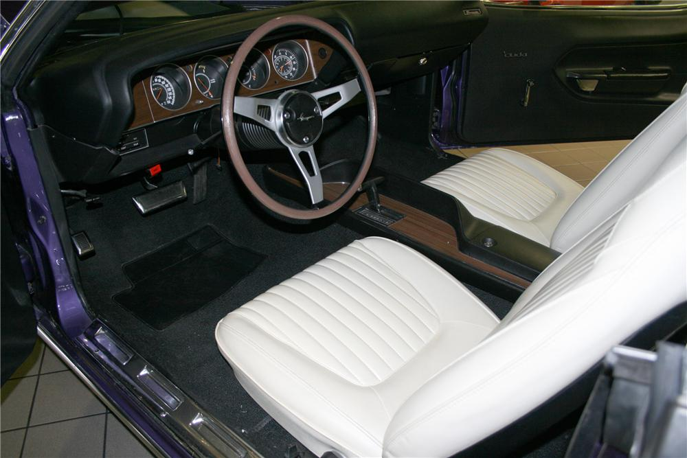 "1971 PLYMOUTH HEMI CUDA RE-CREATION ""AL JARDINES"" - Interior - 81139"