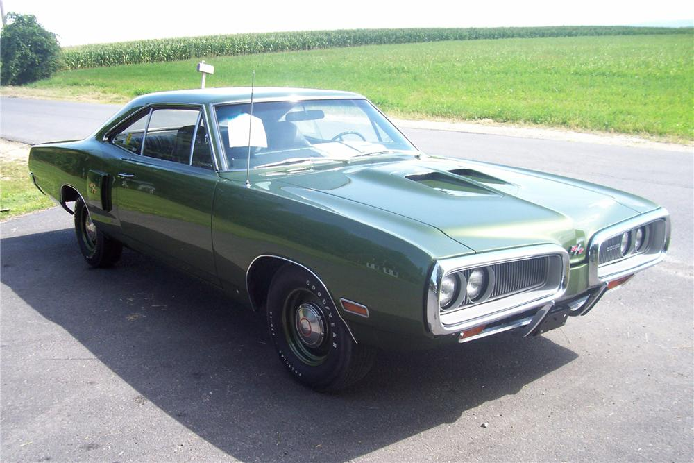 1970 DODGE CORONET R/T 2 DOOR HARDTOP - Side Profile - 81141