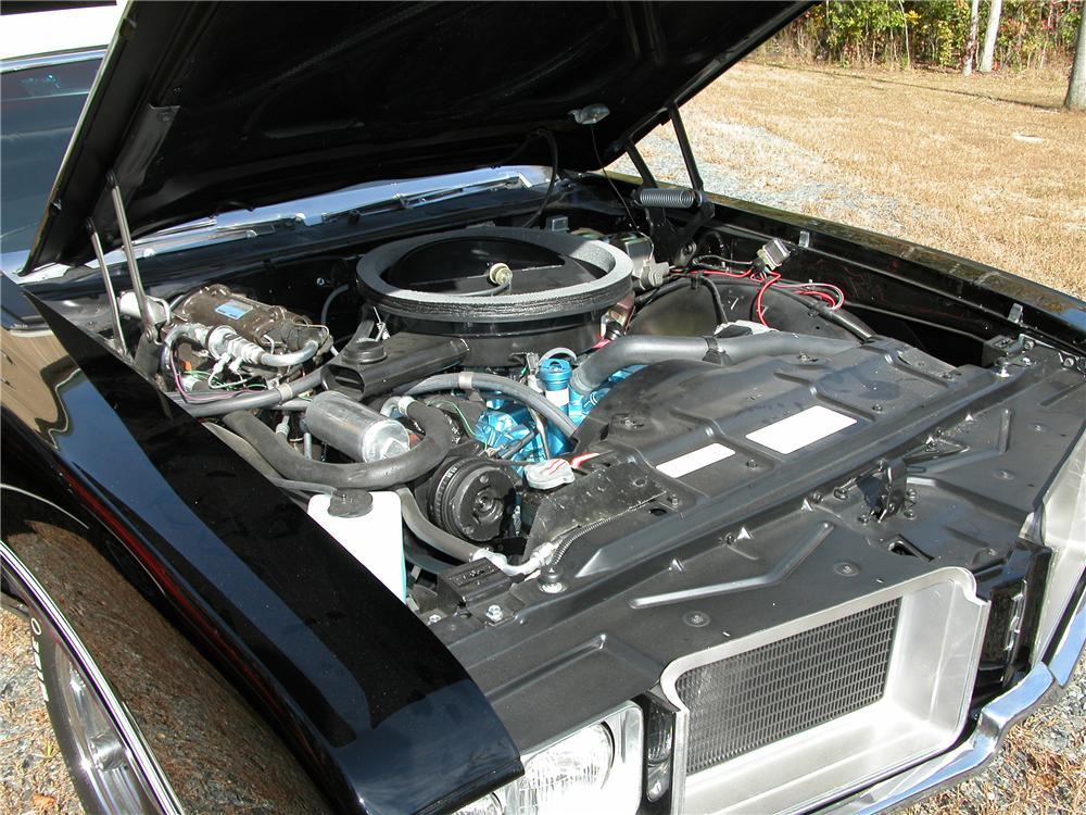 1971 OLDSMOBILE 442 CONVERTIBLE - Engine - 81145