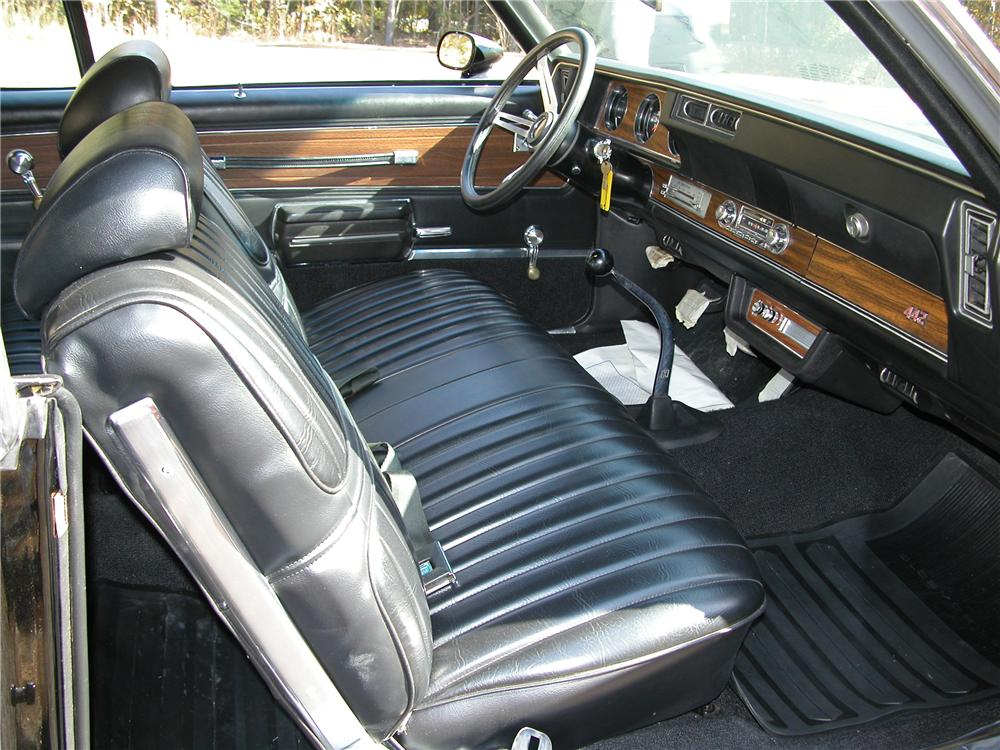 1971 OLDSMOBILE 442 CONVERTIBLE - Interior - 81145