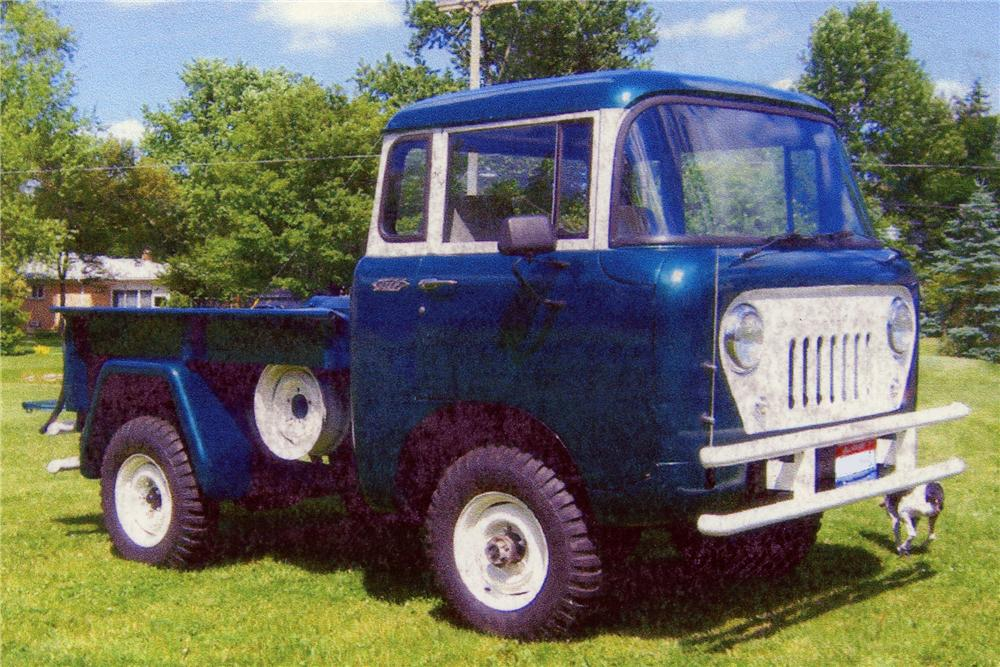 1961 WILLYS FC150 PICKUP - Front 3/4 - 81146
