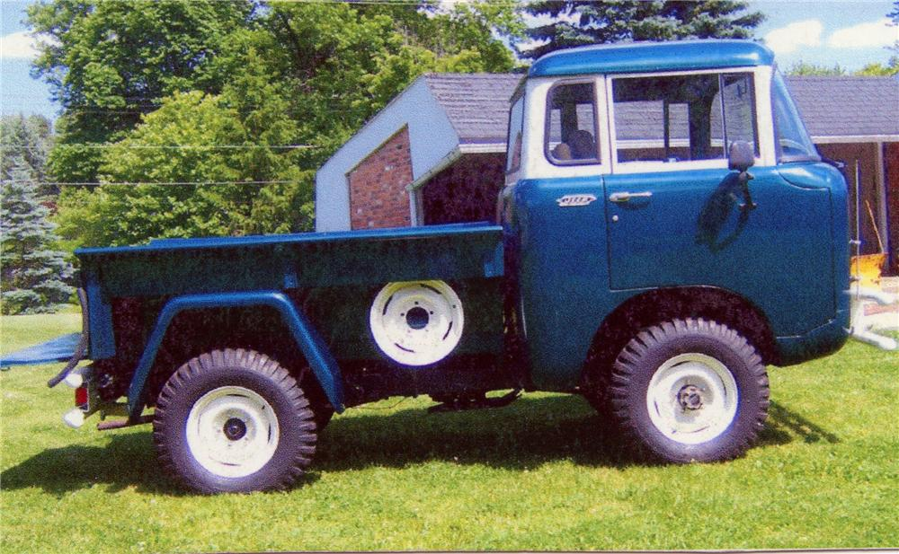 1961 WILLYS FC150 PICKUP - Side Profile - 81146