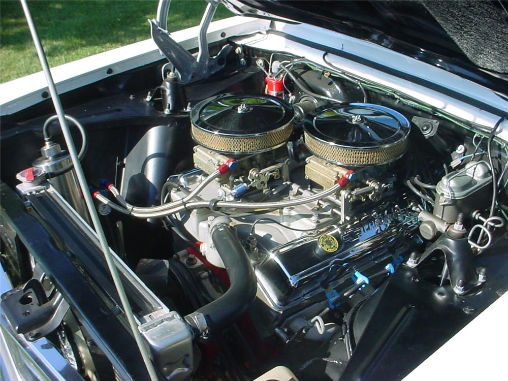 1966 CHEVROLET NOVA CUSTOM 2 DOOR COUPE - Engine - 81153