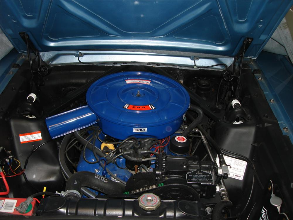1966 FORD MUSTANG COUPE - Engine - 81155