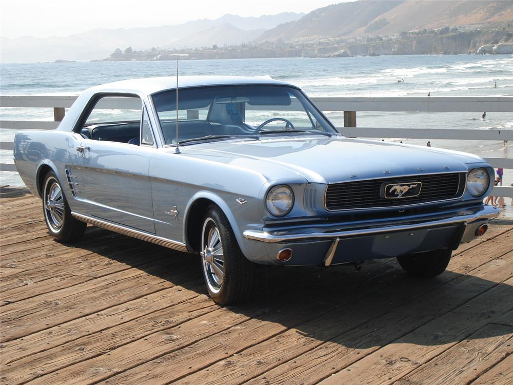 1966 FORD MUSTANG COUPE - Front 3/4 - 81155