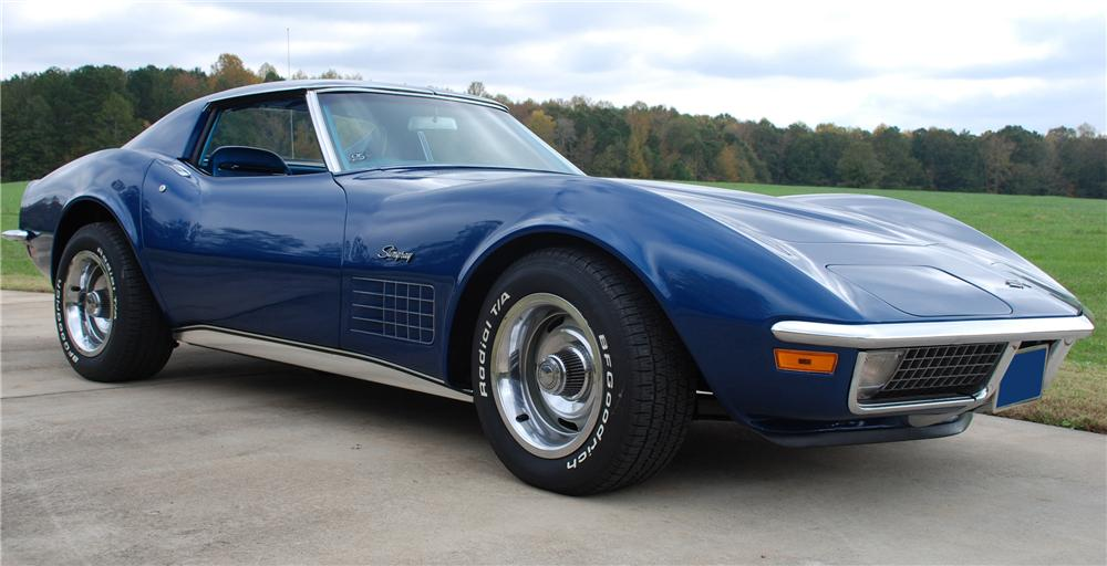 1970 CHEVROLET CORVETTE COUPE - Front 3/4 - 81164