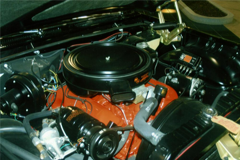 1961 CHEVROLET IMPALA SS 2 DOOR CONVERTIBLE - Engine - 81165