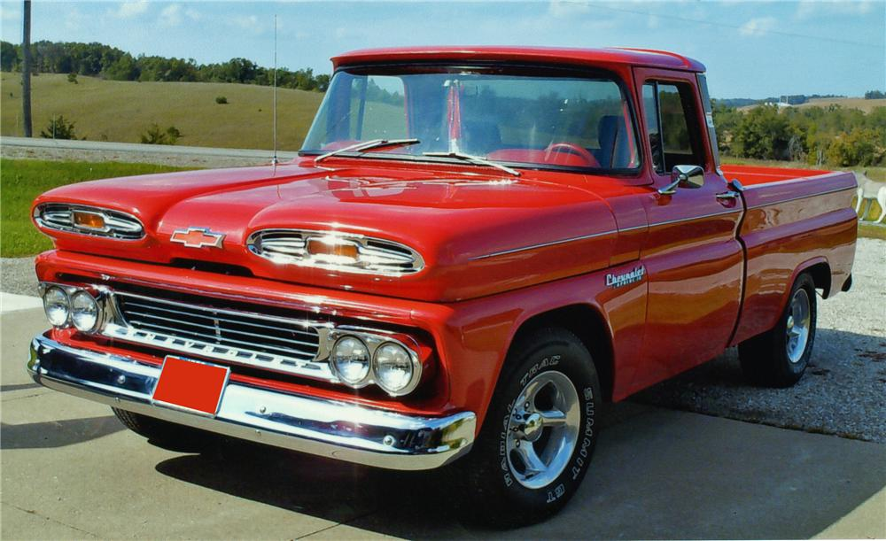 1960 Chevrolet Apache Fleetside Pickup 81172