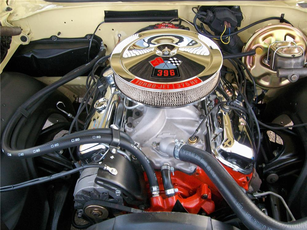 1969 CHEVROLET EL CAMINO PICKUP - Engine - 81173