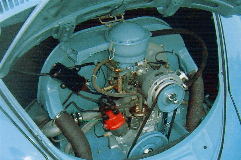 1959 VOLKSWAGEN BEETLE DELUXE SEDAN - Engine - 81174