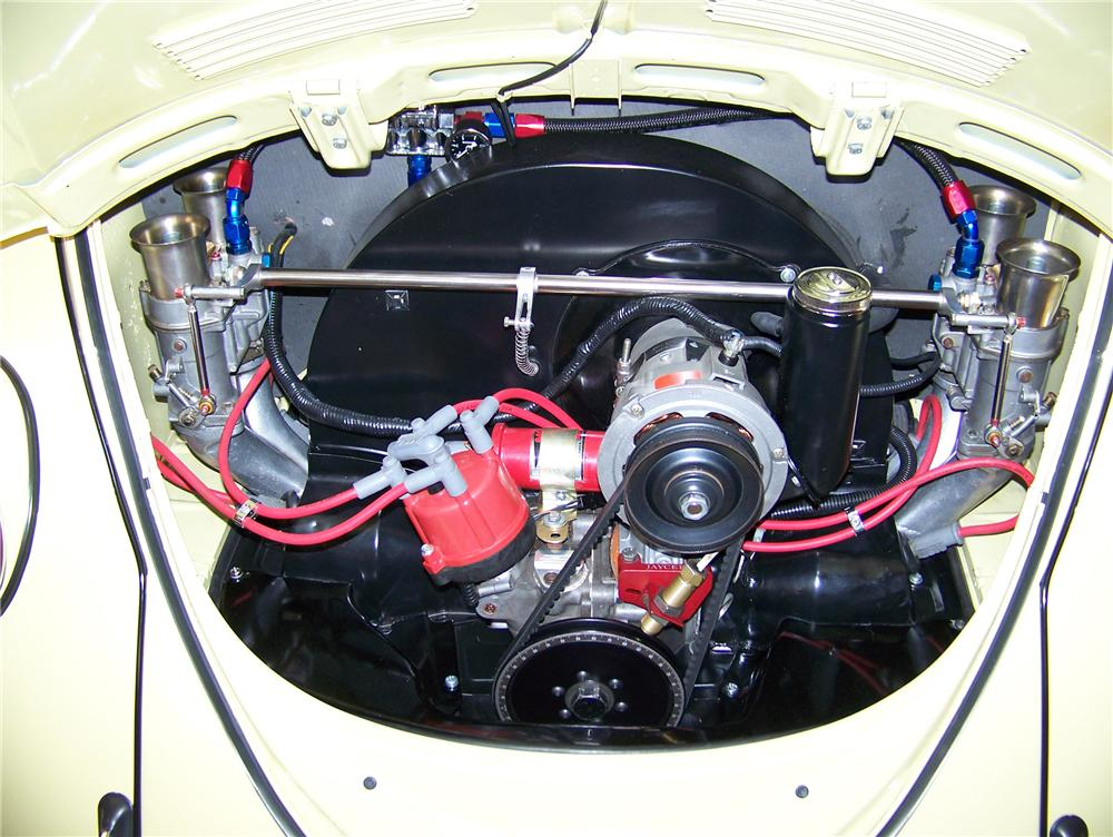 1970 VOLKSWAGEN BEETLE CUSTOM COUPE - Engine - 81177