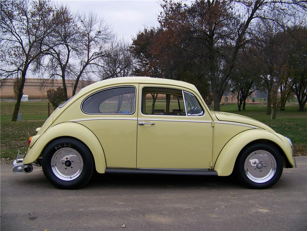 1970 VOLKSWAGEN BEETLE CUSTOM COUPE - Side Profile - 81177
