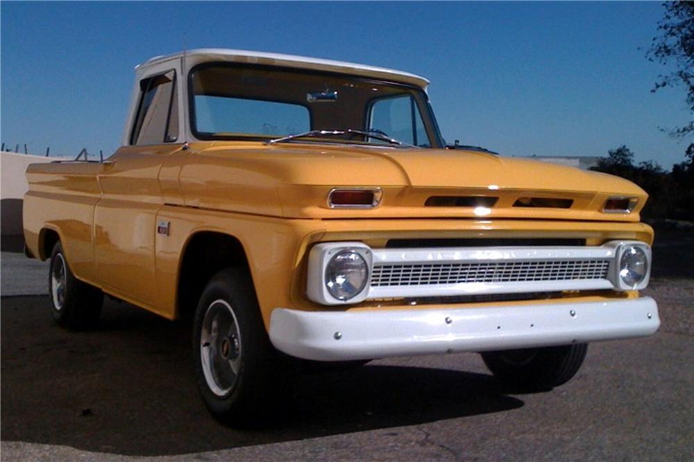 1966 CHEVROLET FLEETSIDE 1/2 TON PICKUP - Front 3/4 - 81183