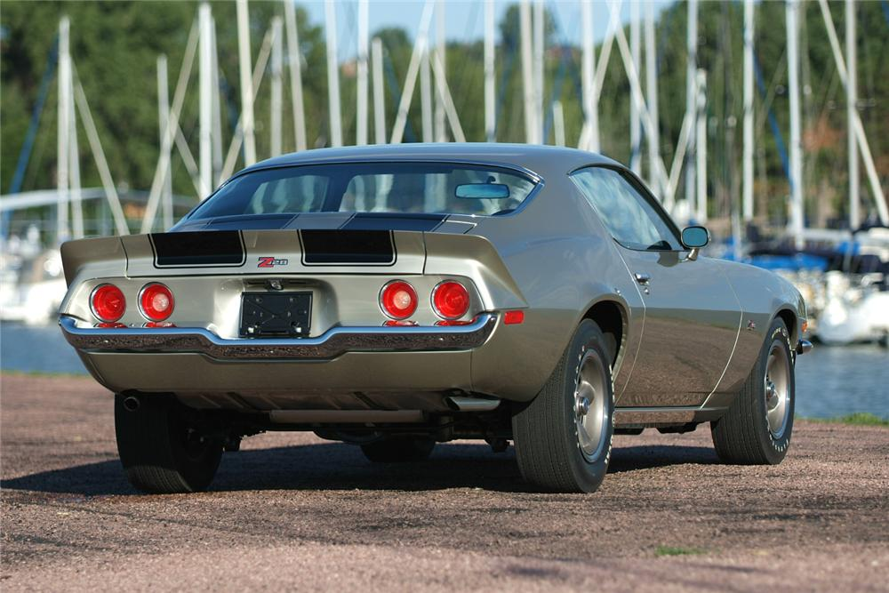 1973 CHEVROLET CAMARO Z/28 COUPE - Rear 3/4 - 81186