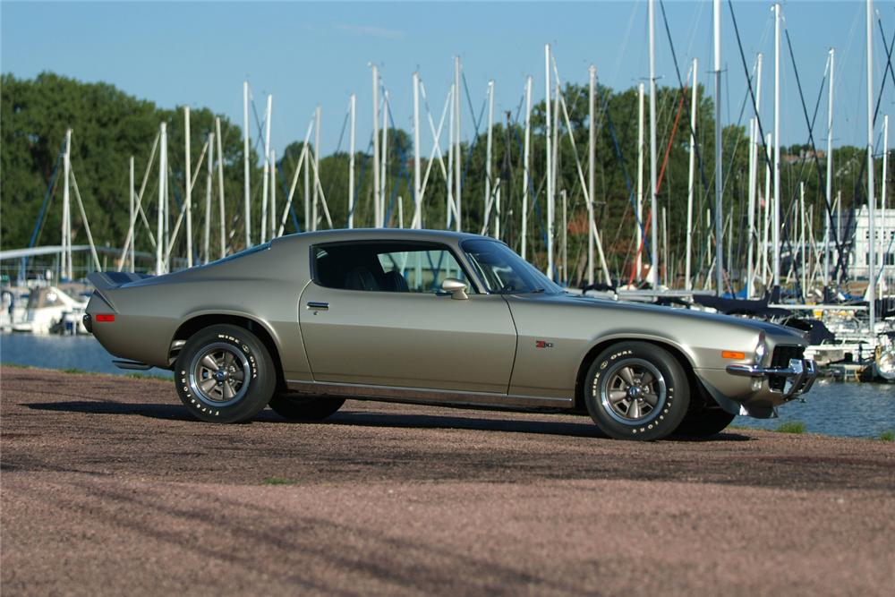 1973 CHEVROLET CAMARO Z/28 COUPE - Side Profile - 81186