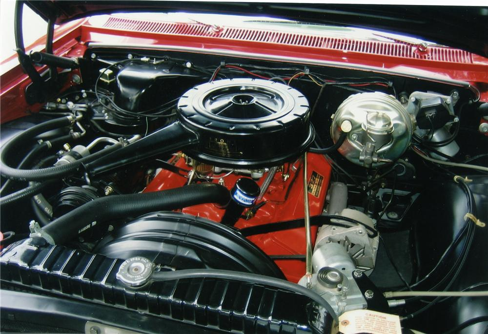 1964 CHEVROLET IMPALA SS 2 DOOR HARDTOP - Engine - 81195