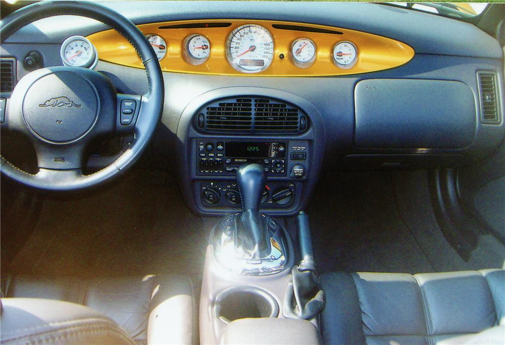 2002 CHRYSLER PROWLER CONVERTIBLE - Interior - 81197