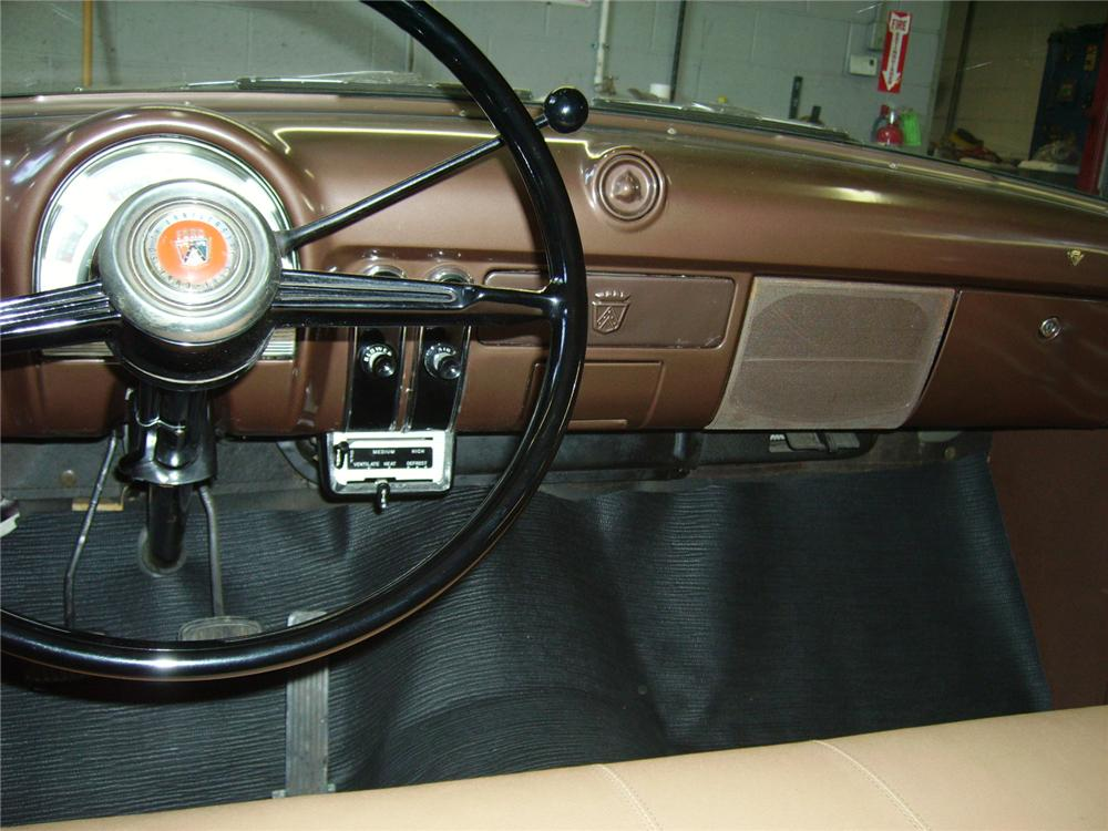 1953 FORD RANCH WAGON 2 DOOR - Interior - 81204