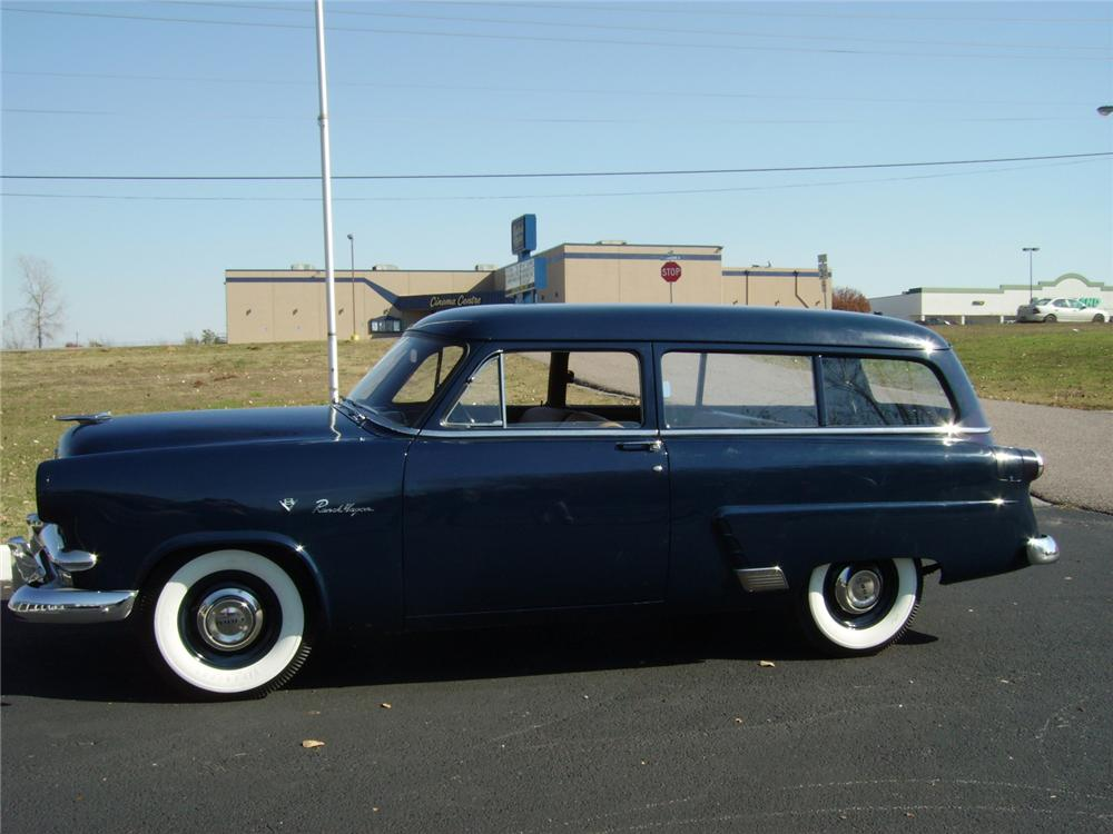 1953 FORD RANCH WAGON 2 DOOR - Side Profile - 81204