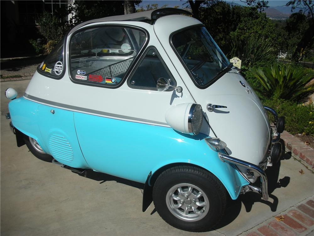 1956 BMW ISETTA COUPE - Front 3/4 - 81207