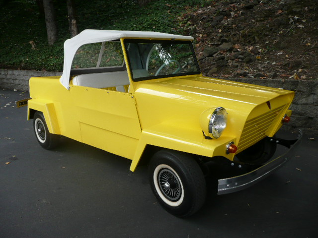 1962 KING MIDGET 2 DOOR CONVERTIBLE MODEL III - Front 3/4 - 81210