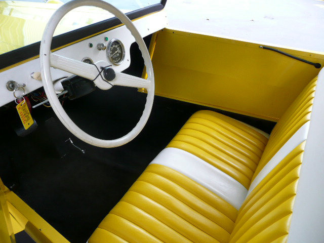 1962 KING MIDGET 2 DOOR CONVERTIBLE MODEL III - Interior - 81210