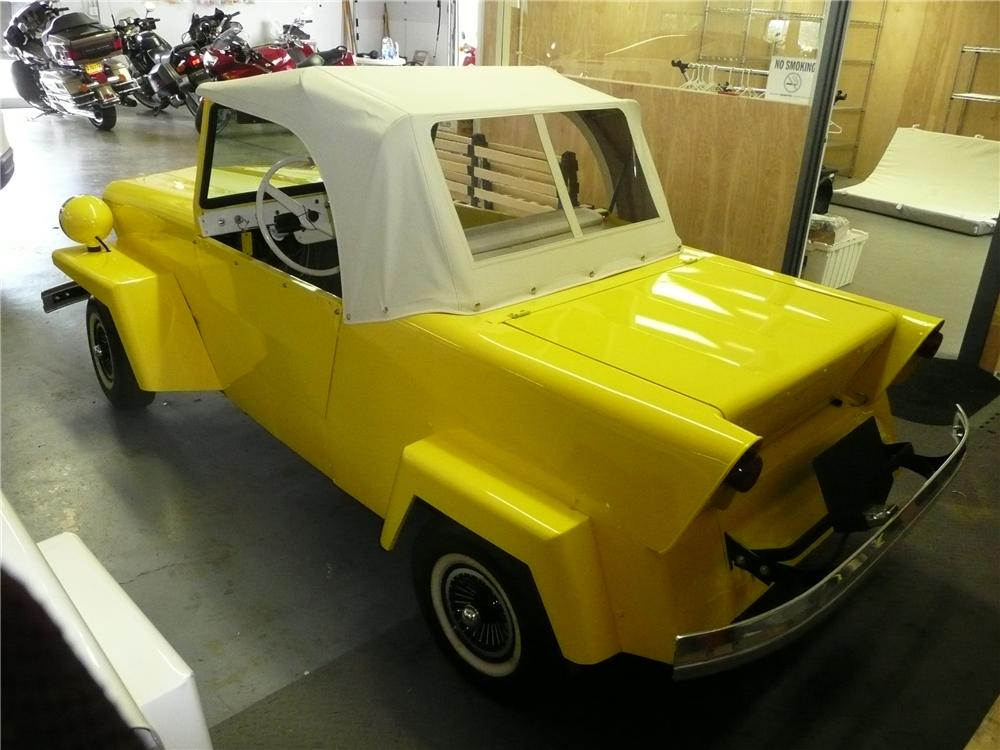 1962 KING MIDGET 2 DOOR CONVERTIBLE MODEL III - Rear 3/4 - 81210