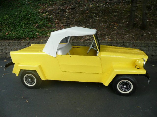 1962 KING MIDGET 2 DOOR CONVERTIBLE MODEL III - Side Profile - 81210