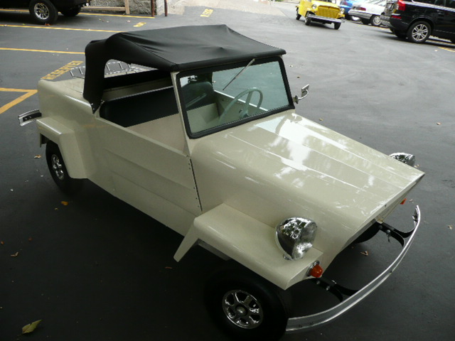 1958 KING MIDGET 2 DOOR CONVERTIBLE MODEL III - Front 3/4 - 81212