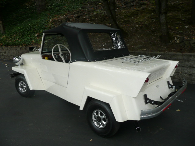 1958 KING MIDGET 2 DOOR CONVERTIBLE MODEL III - Rear 3/4 - 81212