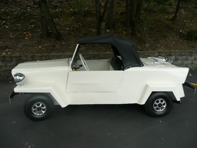 1958 KING MIDGET 2 DOOR CONVERTIBLE MODEL III - Side Profile - 81212
