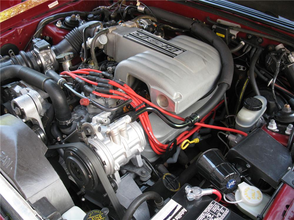 1992 FORD MUSTANG GT CONVERTIBLE - Engine - 81214