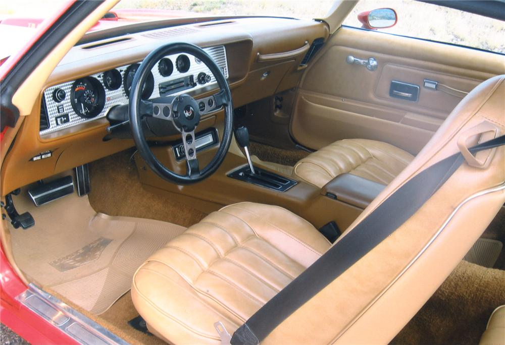 1977 PONTIAC TRANS AM 2 DOOR HARDTOP - Interior - 81222