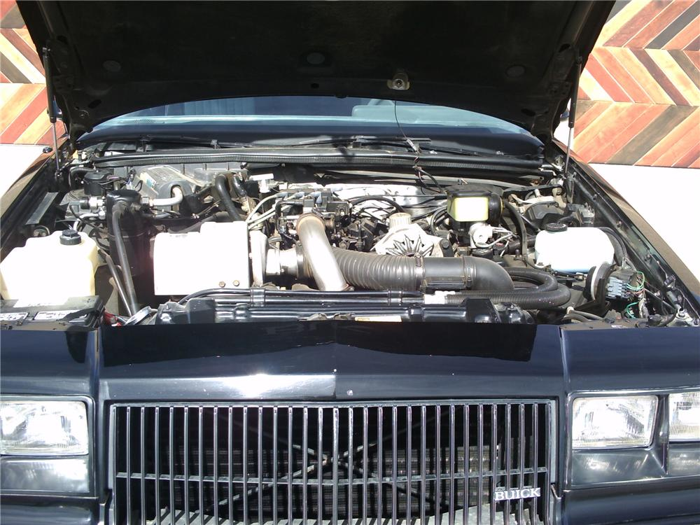 1987 BUICK REGAL GRAND NATIONAL 2 DOOR COUPE - Engine - 81224