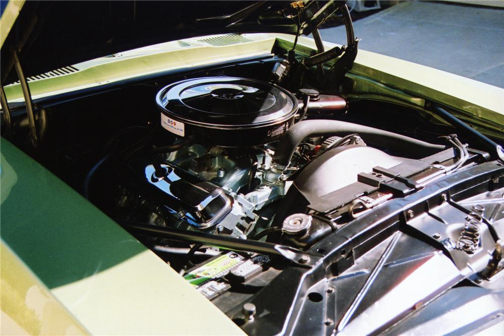 1969 PONTIAC FIREBIRD CONVERTIBLE - Engine - 81227