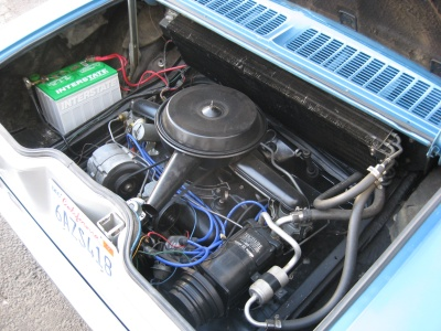 1966 CHEVROLET CORVAIR 2 DOOR HARDTOP - Engine - 81243