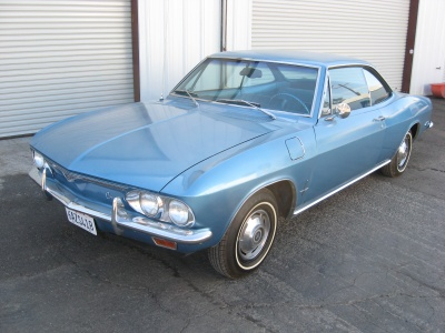 1966 CHEVROLET CORVAIR 2 DOOR HARDTOP - Front 3/4 - 81243
