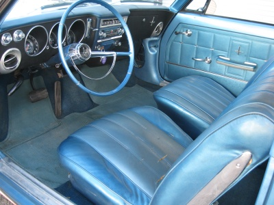 1966 CHEVROLET CORVAIR 2 DOOR HARDTOP - Interior - 81243