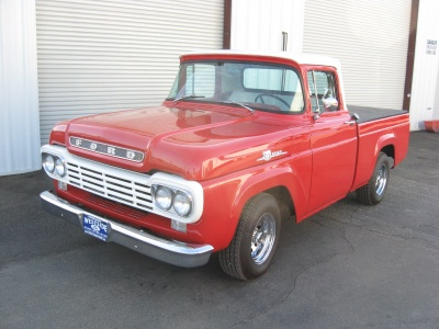 1959 FORD F-100 PICKUP - Front 3/4 - 81245