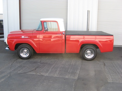 1959 FORD F-100 PICKUP - Side Profile - 81245