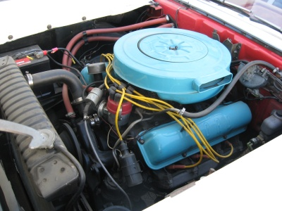 1959 FORD GALAXIE 500 CONVERTIBLE - Engine - 81246