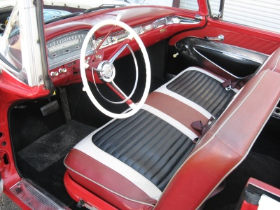 1959 FORD GALAXIE 500 CONVERTIBLE - Interior - 81246