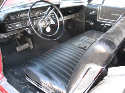 1965 FORD GALAXIE 500 2 DOOR HARDTOP - Interior - 81247