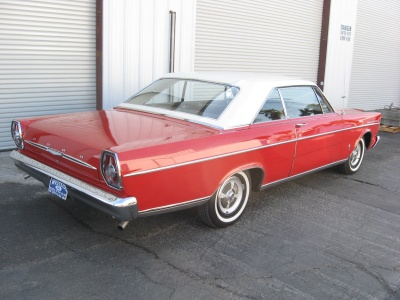 1965 FORD GALAXIE 500 2 DOOR HARDTOP - Rear 3/4 - 81247