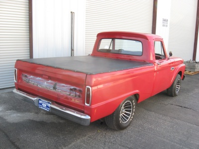 1965 FORD F-100 PICKUP - Rear 3/4 - 81248